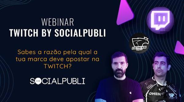 Um Webinar de Twitch? Uma aposta segura da SocialPubli