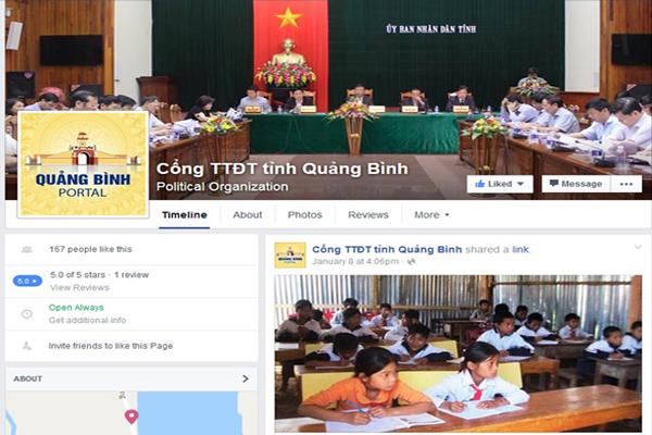 Quảng Bình, Khó Khăn Bảo Mật Facecbook