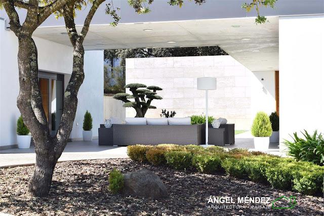 Diseño de jardines, estudio paisajismo, arquitecto paisajista, jardines modernos, jardines naturales