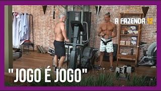 """A Fazenda 12 – Juliano diz ser a favor da combinação de votos – Luca chama peões de """"nojentos"""""""