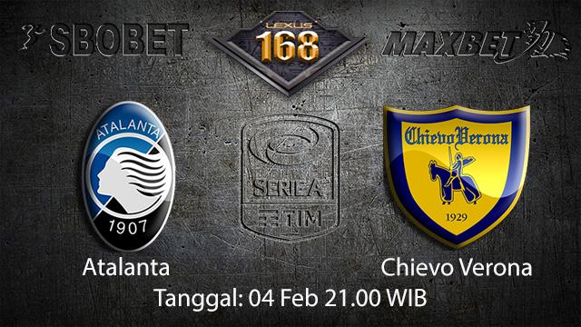 PREDIKSIBOLA - PREDIKSI TARUHAN BOLA ATALANTA VS CHIEVO 04 FEBRUARI 2018 ( ITALIAN SERIE A )