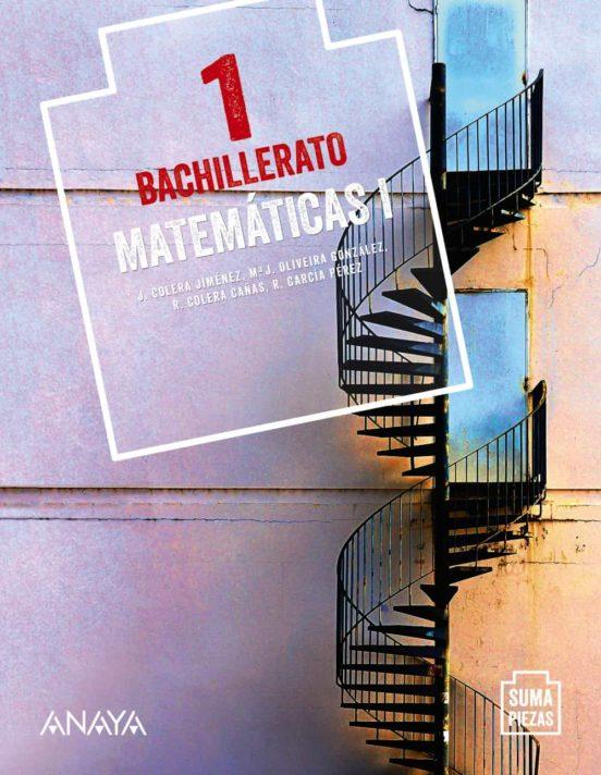 Libro Matemáticas 1º Bachillerato Anaya Proyecto Suma Piezas