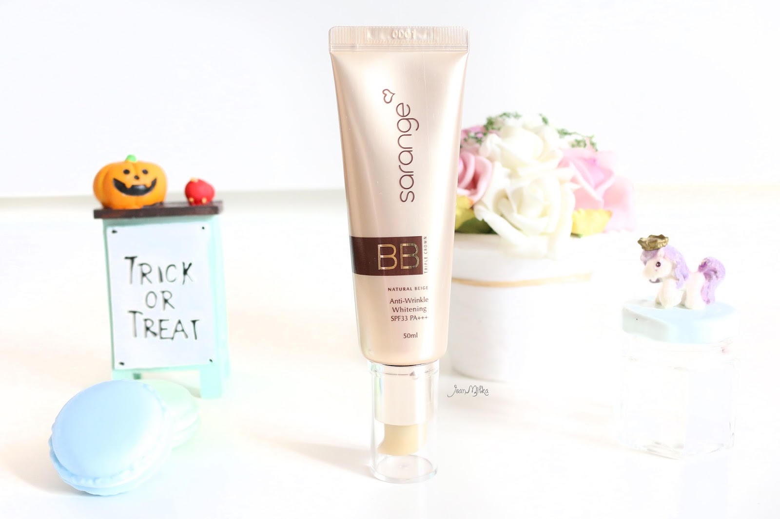 sarange, bb cream, sarange triple crown bb cream, korean makeup, makeup, review, sarange id