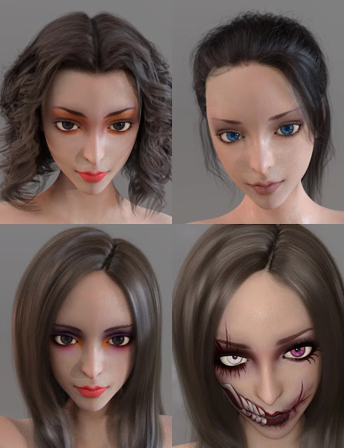 Sorceress for Genesis 8 Female