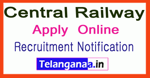 Central Railway Recruitment Notification
