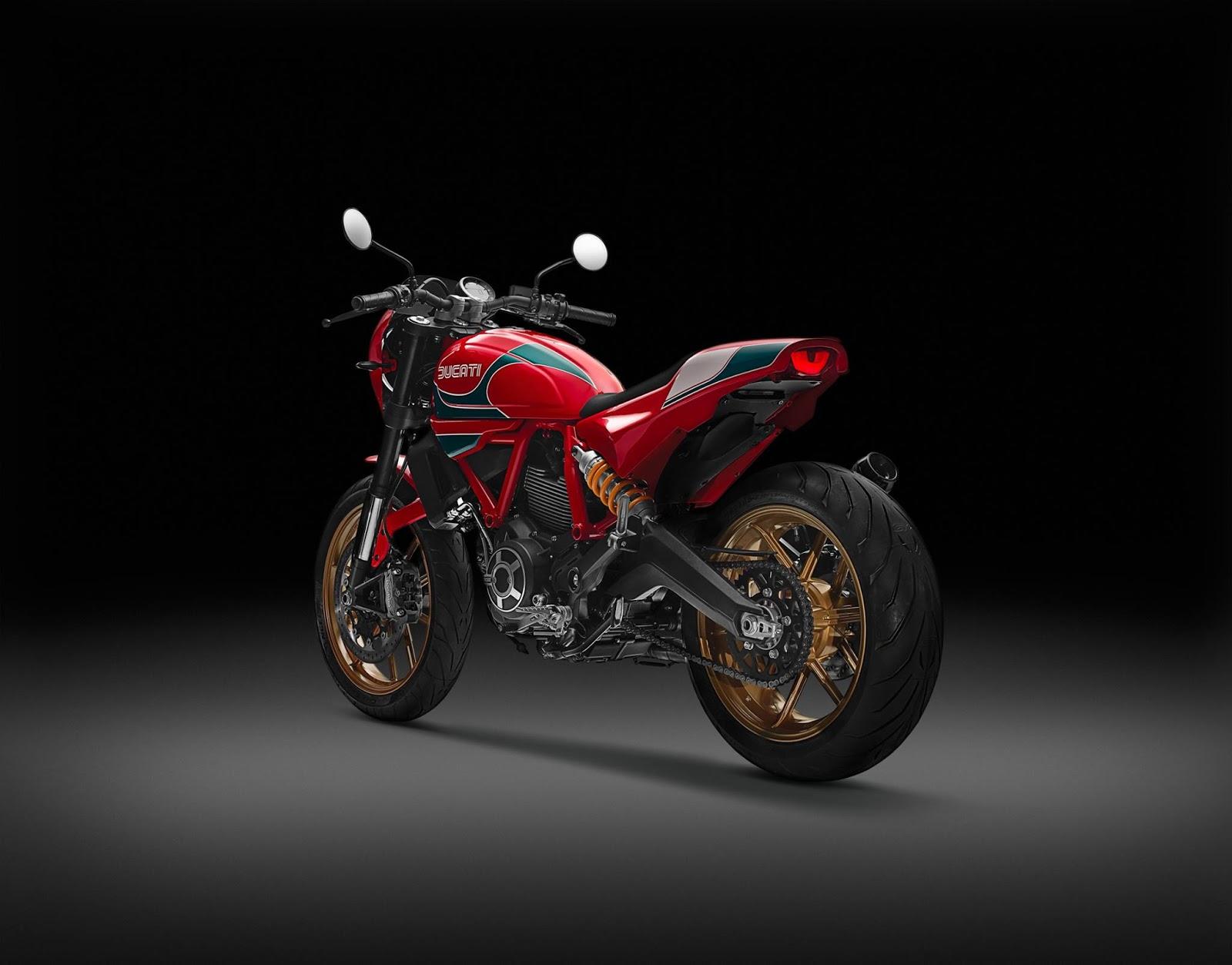 Ducati Scrambler Cafe Racer >> Racing Cafè: Ducati Scrambler Mike Hailwood SE Limited ...