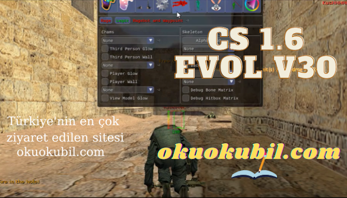 CS 1.6 Evol v30 ESP Öfke + Hız Aimbot, Ragebot, Legit, Undetected 2020