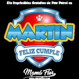 Logo de Paw Patrol: MARTÍN