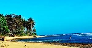 Menikmati Keindahan Pantai Melasti Lampung dengan Spot Foto yang menarik
