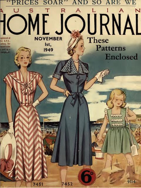 The Vintage Pattern Files Australian Home Journal 1st