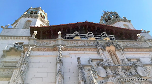 hearst castle exterior photos