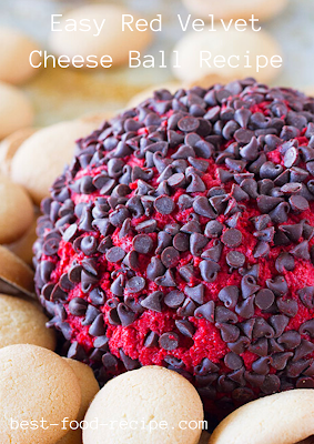 Easy Red Velvet Cheese Ball Recipe