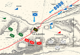 Ataque inicial del Ejército Francés