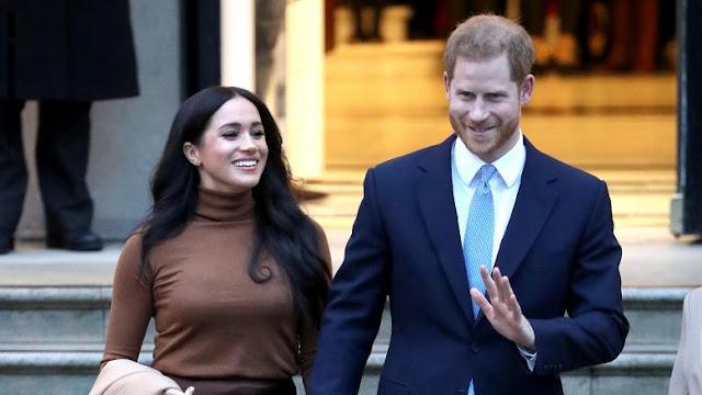 الأمير هاري وزوجته ميغان يتخليان عن دورهما الملكي