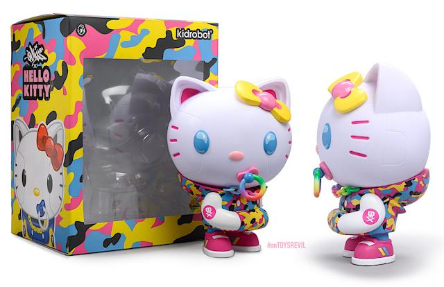 Kaiju Dragon-Hello Kitty x Tokidoki Mini Series 2 Vinyl Figure BRAND NEW