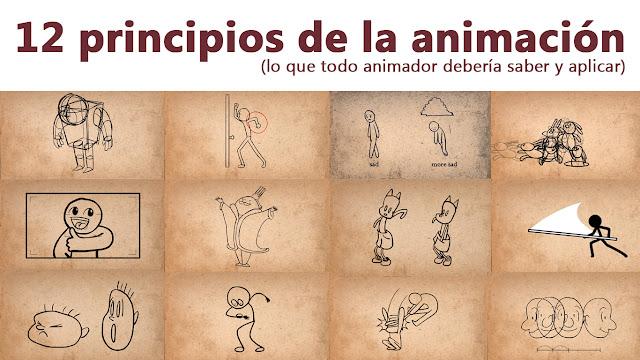 12 principios básicos de la animación