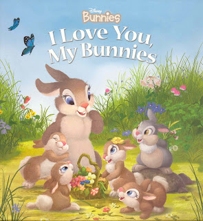 Disney Bunnies I Love You, My Bunnies Board book