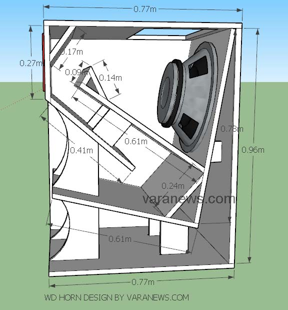 Skema Box WD Horn Subwoofer 18 Inch