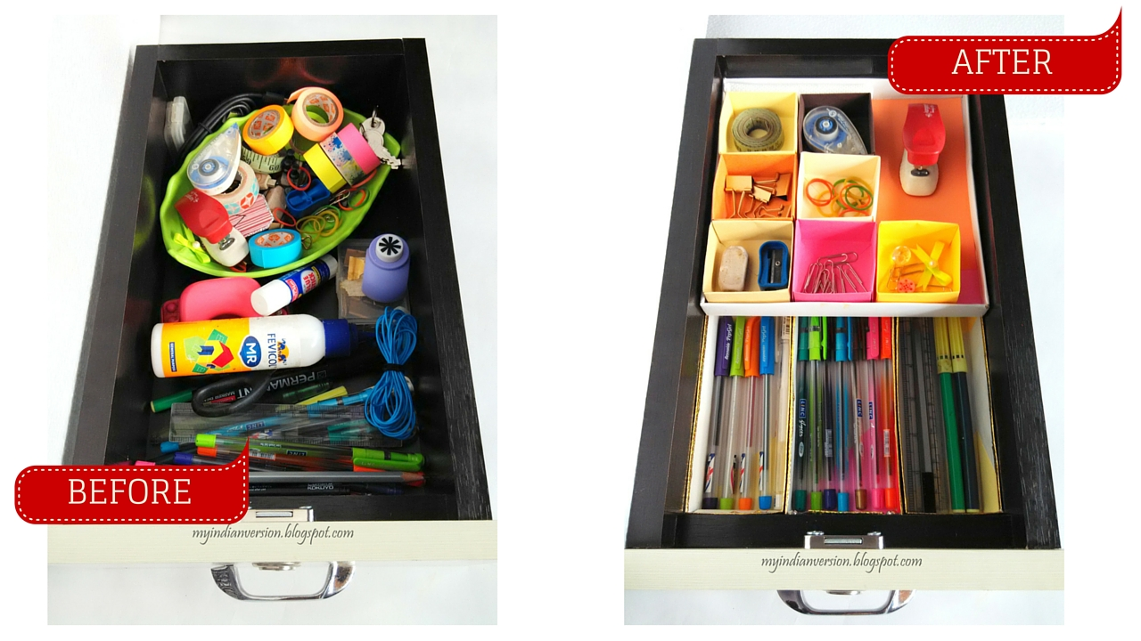 My indian version march 2016 drawer organizer stackable before after diy myindianversion solutioingenieria Image collections