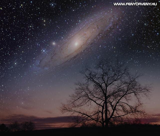 Utazás az Androméda galaxis Aenstria bolygójára