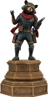 Toy Fair 2020 Diamond Select Avengers Endgame Marvel Gallery Rocket Racoon 7-Inch Collectible PVC Statue