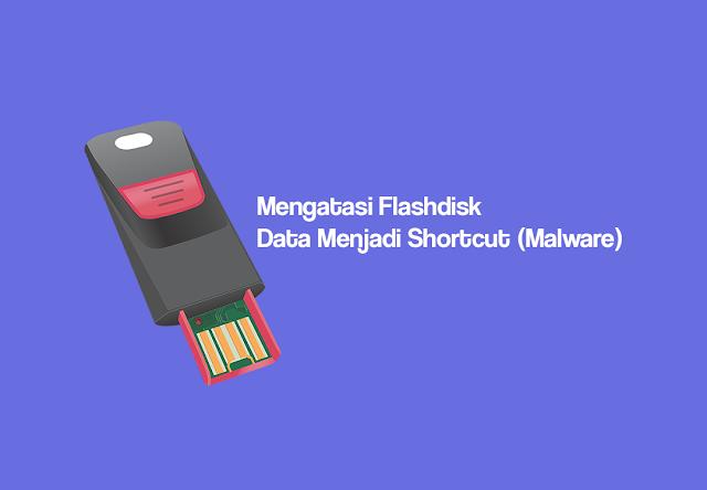 Cara Mengatasi Flashdisk Yang File-nya Menjadi Shortcut Dan Muncul RunDLL Error (Malware)