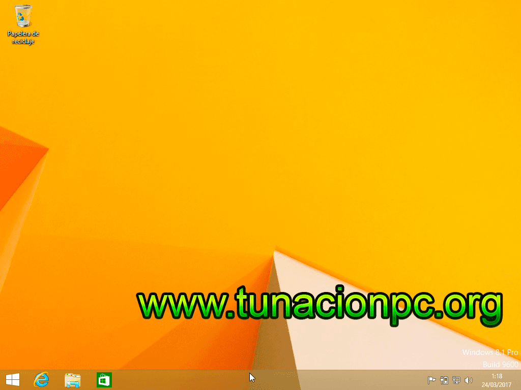 Windows 8.1 Todo en Uno Update 3