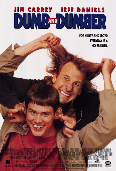 Poster Of Dumb and Dumber 1994 UnRated 720p Hindi BRRip Dual Audio Full Movie