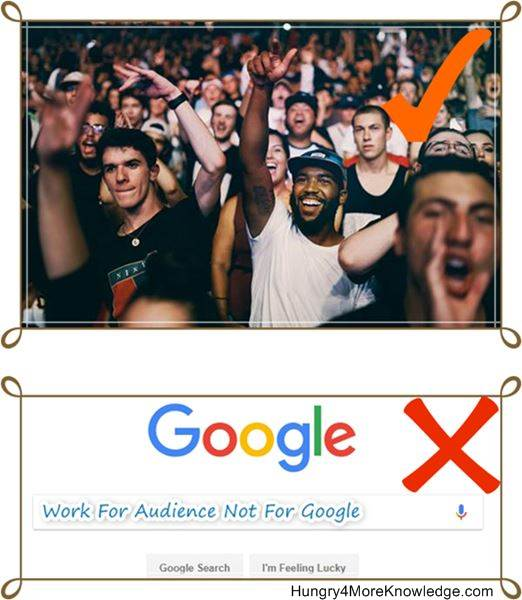 Write-For-Audience-Not-For-Google