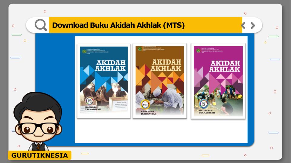 download gratis buku pdf akidah akhlak untuk mts