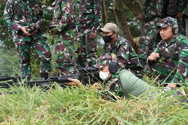 Satgas Pamtas Yonif 315/ Garuda Siap Berantas Gerakan Saparatis Bersenjata di Perbatasan RI-PNG