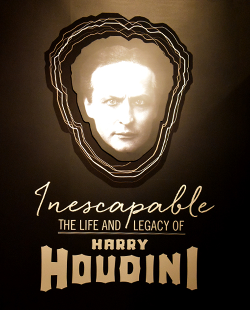 Harry Houdini entry poster   Photo: Travis Swann Taylor