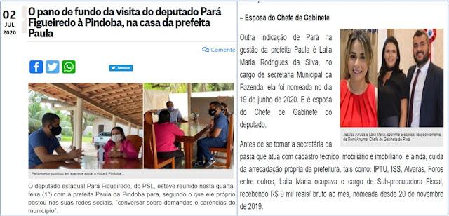BOMBA!! Indício de palanque de rachadinhas e corrupção na Secretaria da Fazenda de Paço do Lumiar