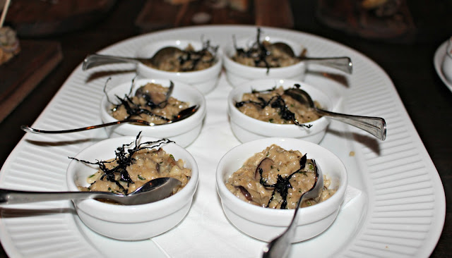 Cote Brasserie Mushroom Rissotto