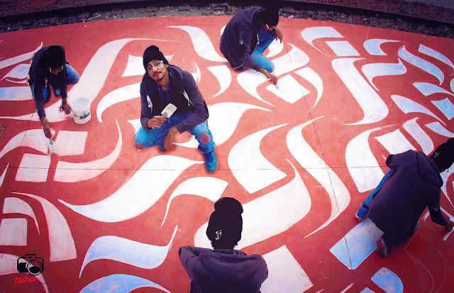 Calligraphie à Monastir en Tunisie