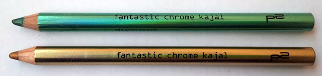 P2 fantastic chrome Kajalstifte