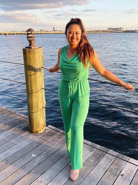 Pro golfer Lilia Vu