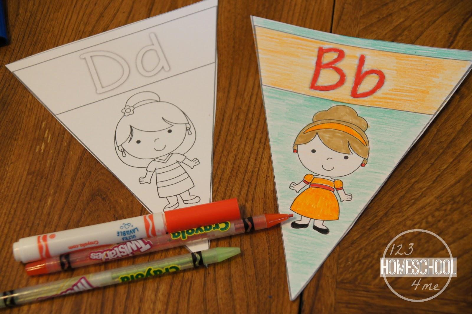 Alphabet Coloring Pages Download : Color me disney princess alphabet wall cards