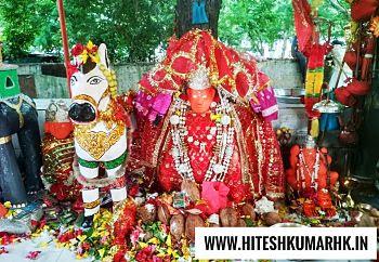 वन की देवी माँ अंगार मोती angar moti dhamtari