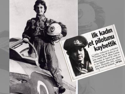 İlk Kadın Jet Pilotu Leman Bozkurt Altınçekiç