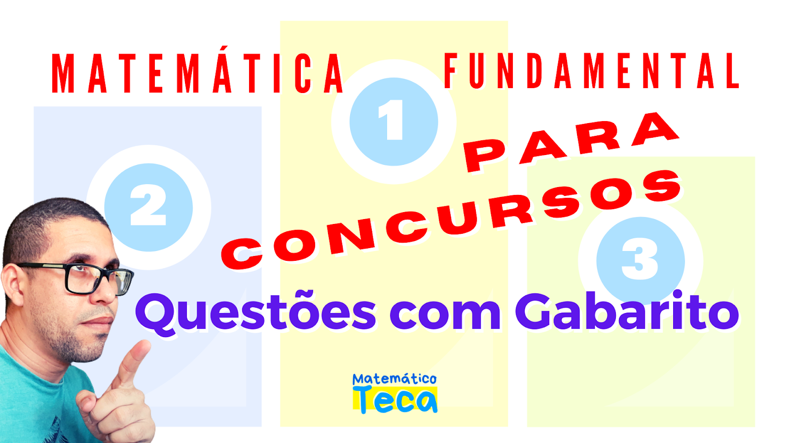 Questões de Matemática para Concursos
