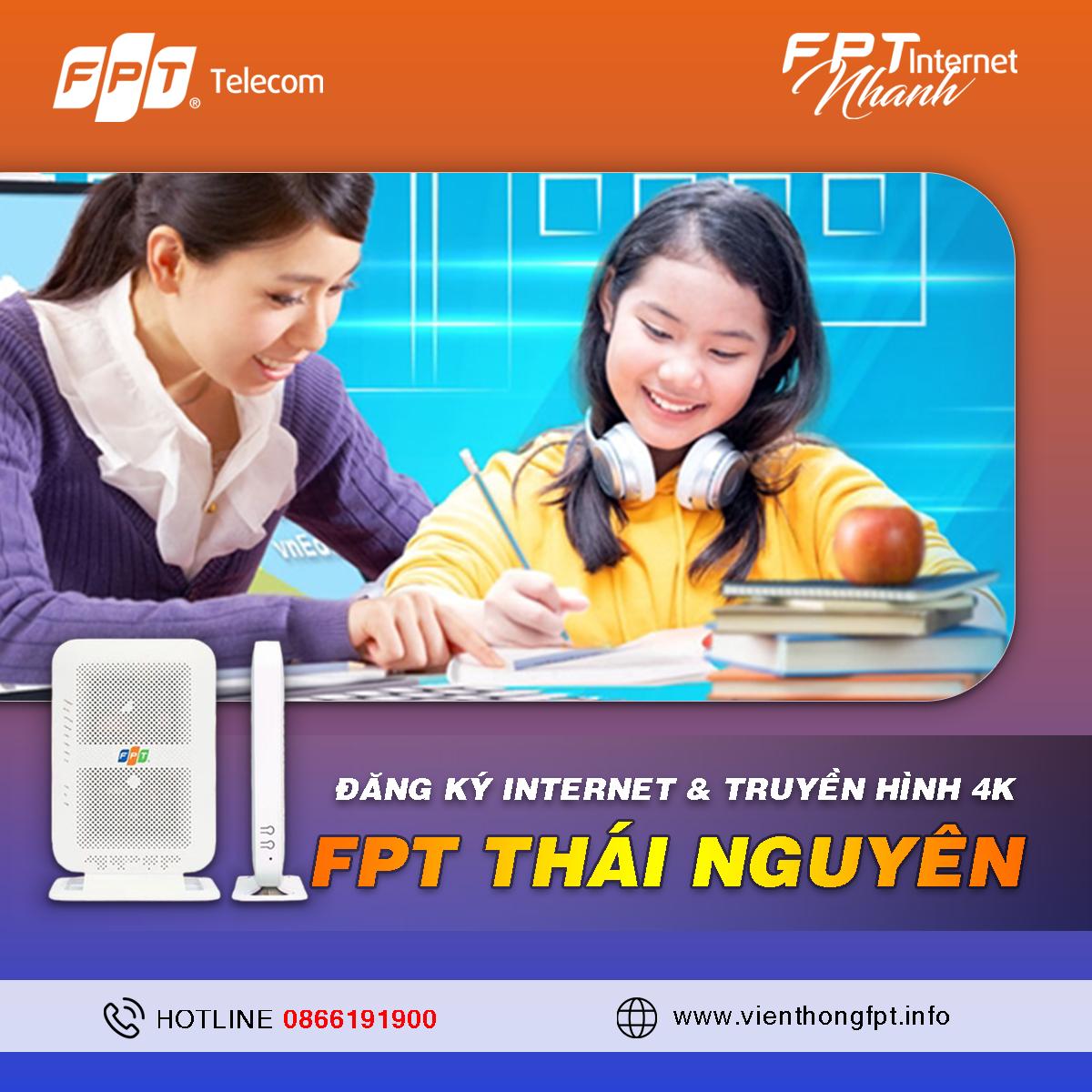 Tổng đài Đăng ký Internet FPT tại Thái Nguyên
