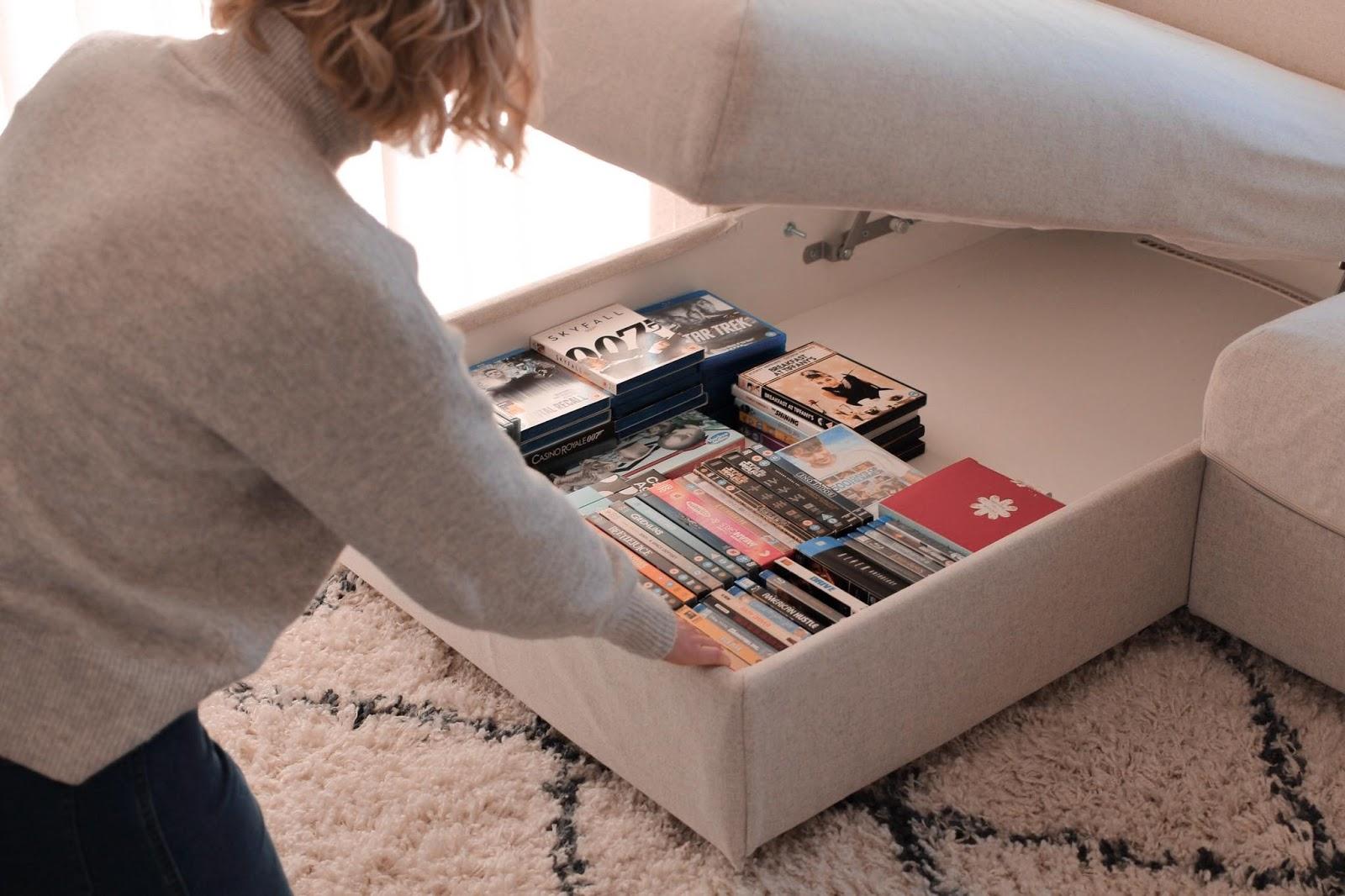Hidden, Storage, Rental, Decor, Tiny, Home, DVDs, Tidy, Marie Kondo