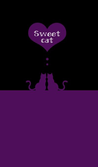 sweet cat [black&purple]