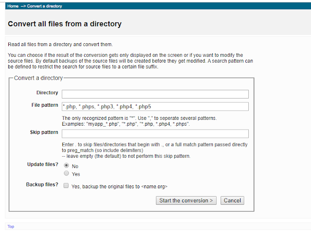 Cara Convert PHP Dan MySQL Dengan Tool Converter Terbaru