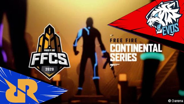 Tim Evos & RRQ Indonesia Gagal Juara di Grand Final Free Fire Continental Series (FFCS) 2020