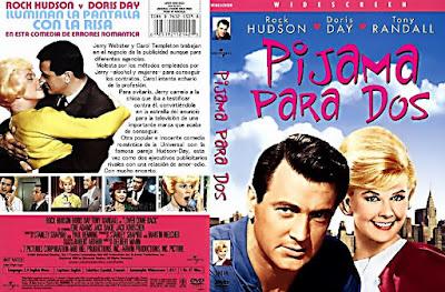 Carátula dvd: Pijama para dos - 1961