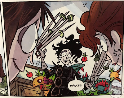 Edward Scissorhands Volume 2: Whole Again snack panel