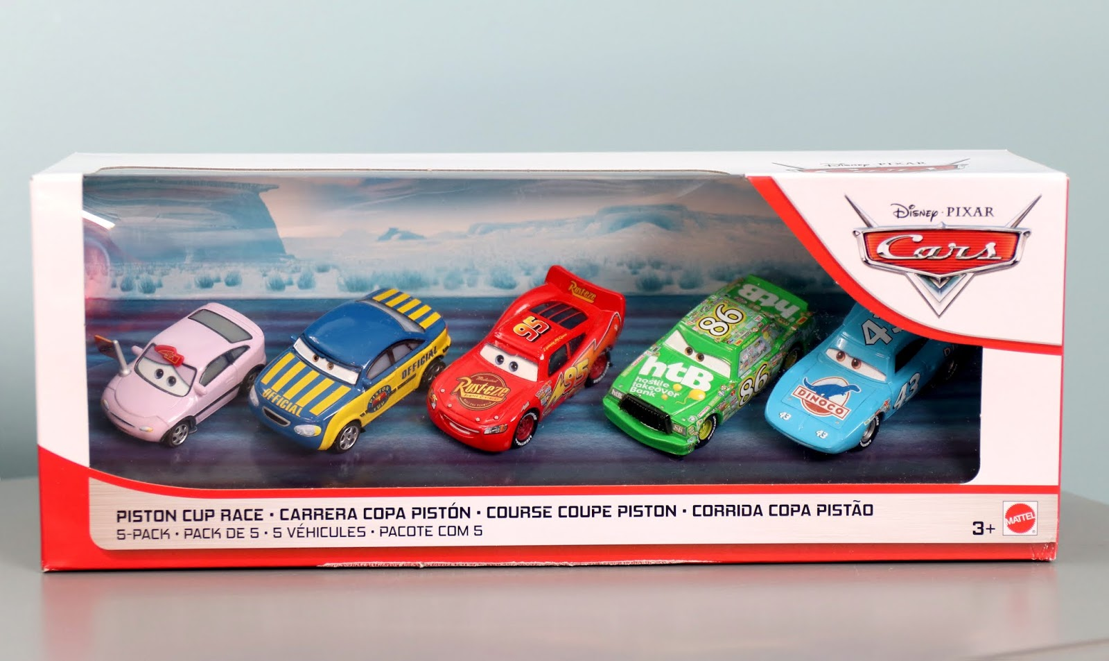 Cars Piston Cup Race 5-PackCars Piston Cup Race 5-Pack