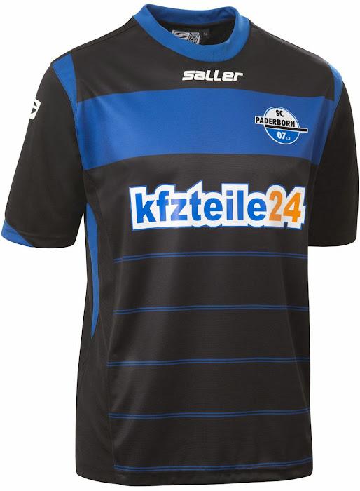 New Sc Paderborn 14 15 Kits Released Footy Headlines